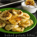 Cheesy Mashed Potato Bites