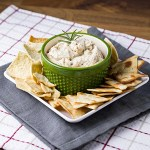 Cannellini Bean Dip with Rosemary & Garlic
