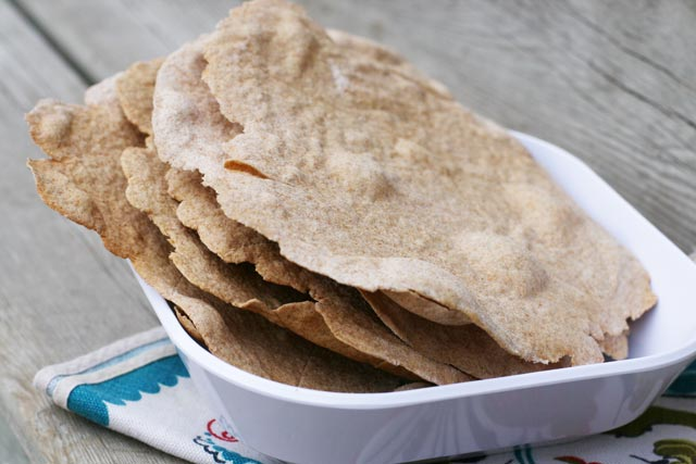 Paleo Norwegian Flat Bread