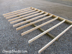 Floor joist layout