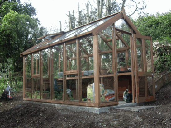 How to make a home garden greenhouse for Greenhouse design plans