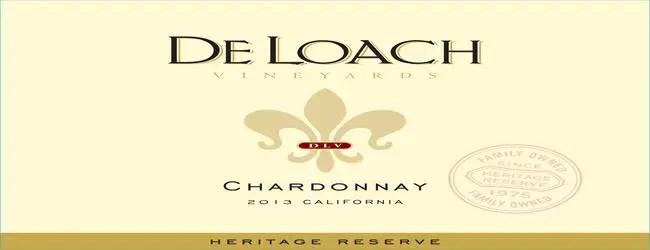 DeLoach California Chardonnay 2014
