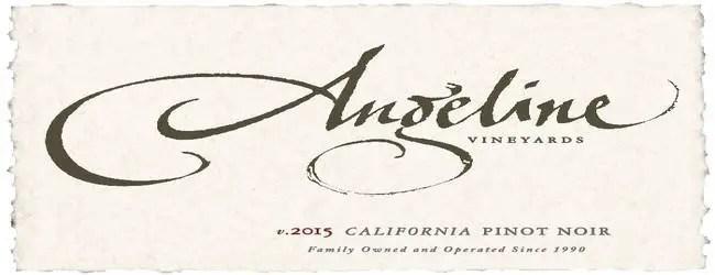 Angeline Vineyards Pinot Noir 2015