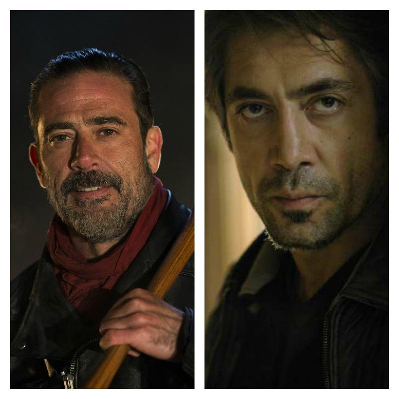 Celebrity Lookalikes  10 Celebrities Who Look Like Other Celebrities     Jeffrey Dean Morgan and Javier Bardem