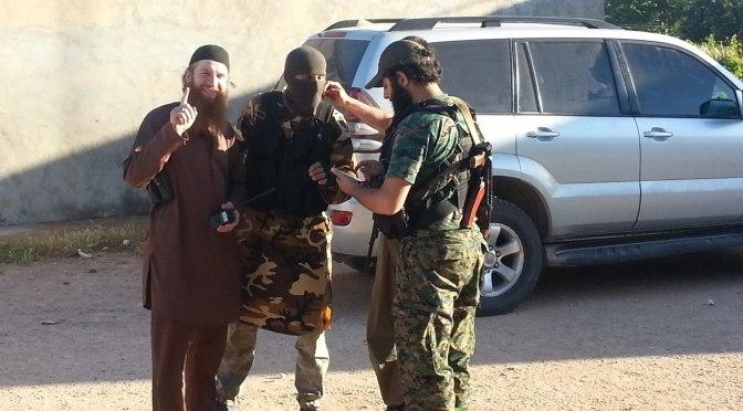 Reports That Umar Shishani Has Arrived In Markada, Near Deir Ezzor