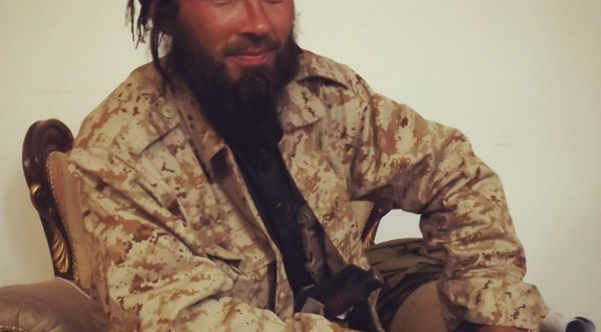 Syria Photo: Leader Of Uzbek Jamaat, Abu Hussein