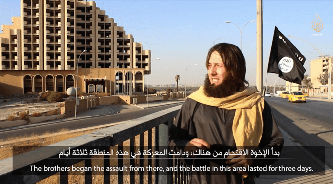 IS Makes Another Russian-Language Video: A Visit To Mosul
