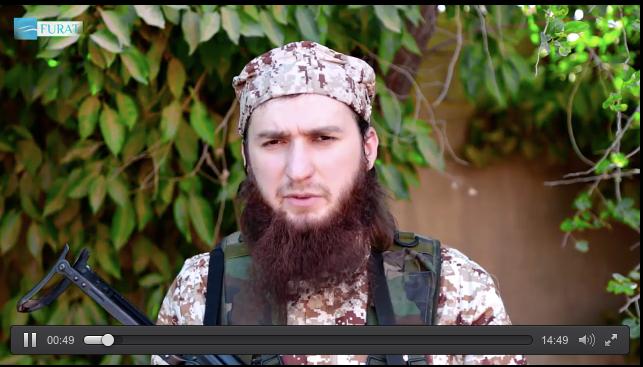 Musa Abu Yusuf Shishani Criticizes Imarat Kavkaz In New Furat Media Video