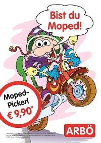bist du moped Pickerl Arbö