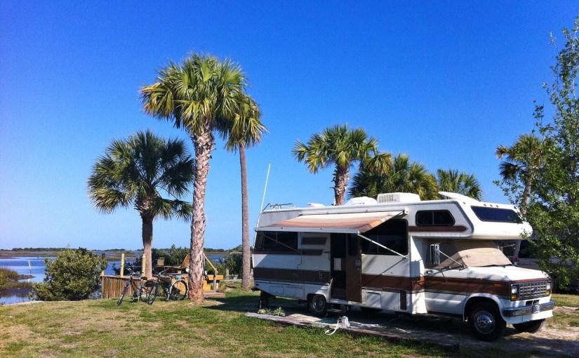 The Yeti Sunbathing in Florida