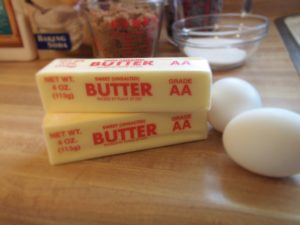 butter and eggs