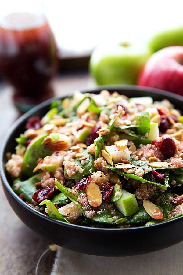 Simple Quinoa Salad Recipe — Dishmaps