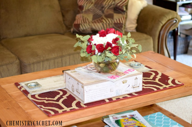 How to build your own RUSTIC coffee table for around $75 on chemistrycachet.com