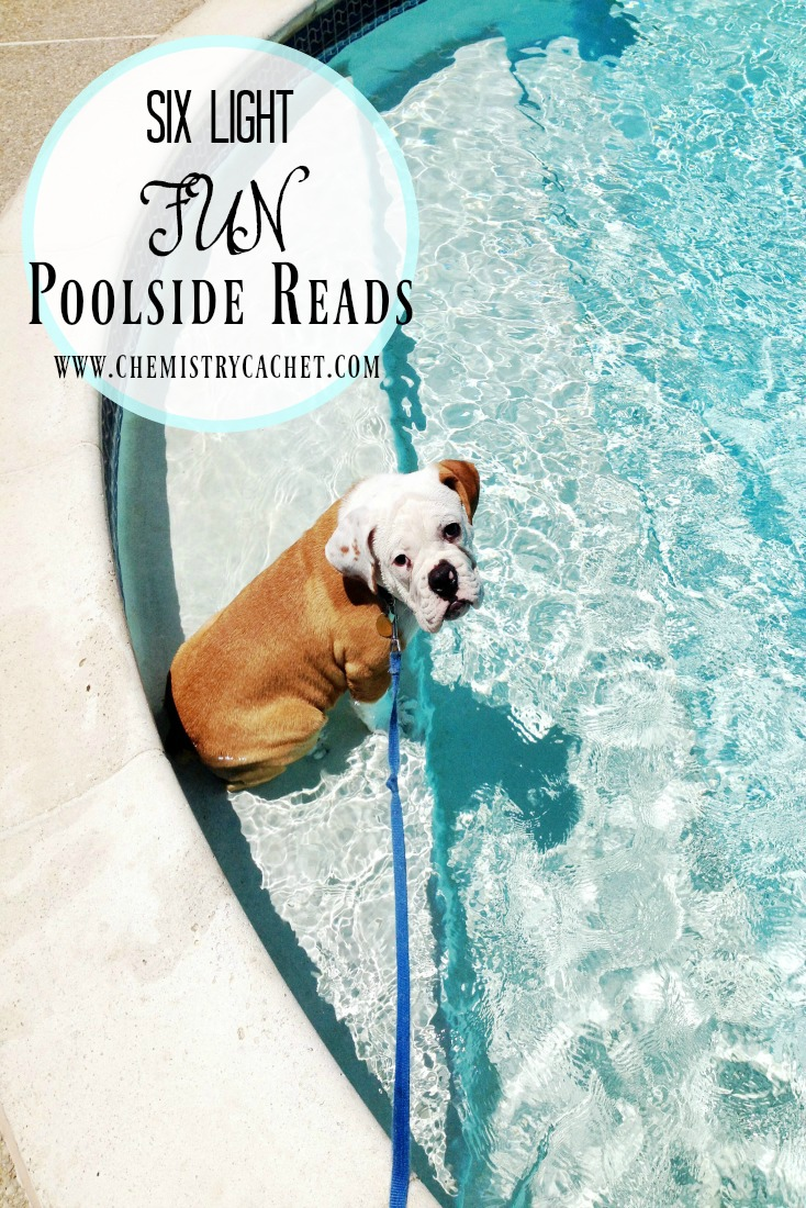 Six Light, Fun Poolside Reads to finish out the summer! on chemistrycachet.com