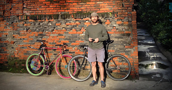 Jacob of Natooke Chengdu Fixed Gear Bicycle Shop