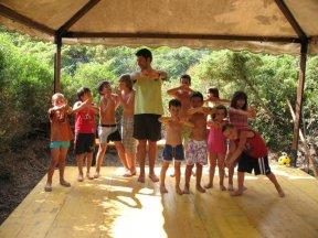 Uno dei primi corsi di Taiji per bambini (2008)