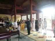 Cerimonia Baishi di discepolato 2009