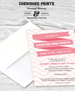 Ribbons Invitation