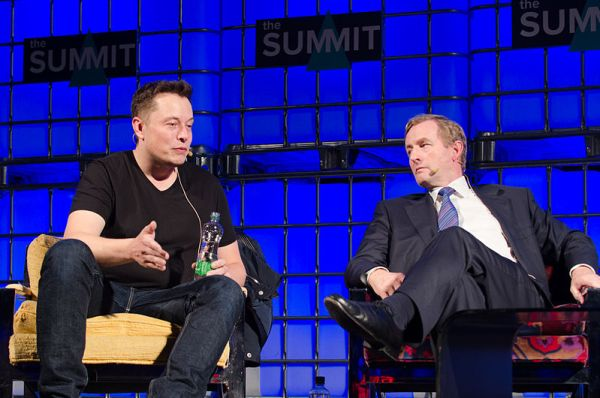 The_Summit_2013, Elon Musk, Wikipedia