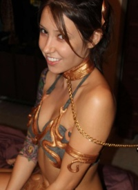 as slave leia misty gates