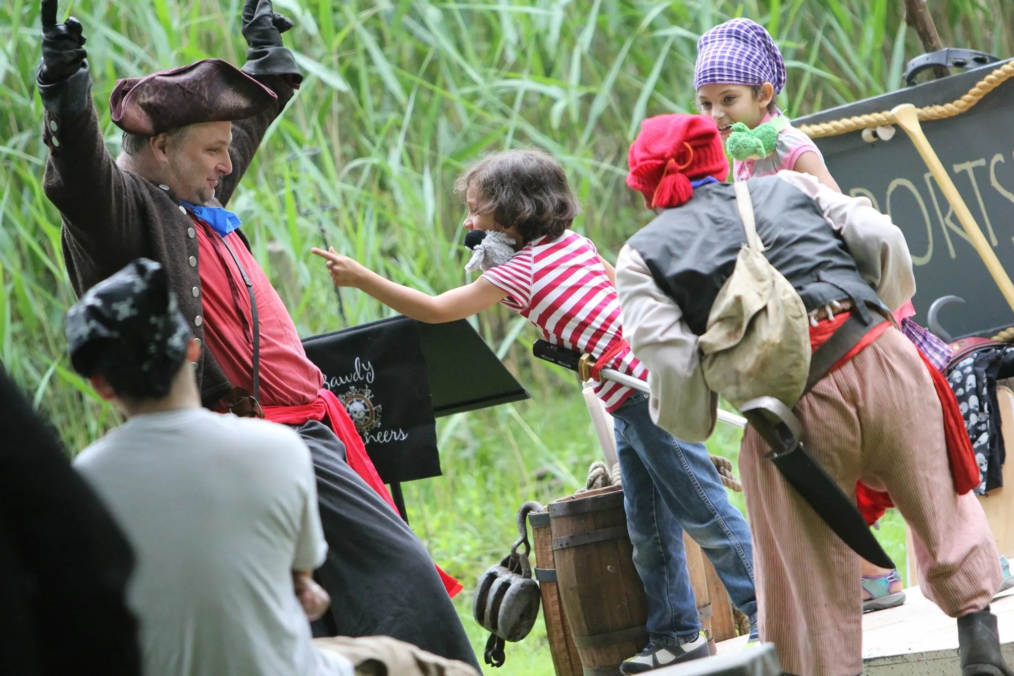 Pirate Festivals with the Kids