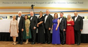 The 2016 Festival Executive Committee together with their wives/ partners
