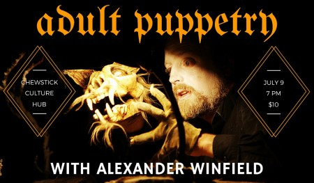 Adult Puppetry with Alex Winfield