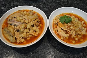 his and hers pozole