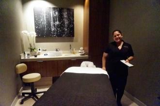 Samantha, Loews Chicago Hotel Spa's Massage Therapist