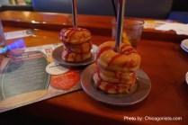 Yummy dessert at Lucky Strike
