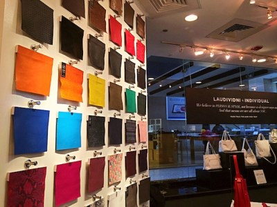 Design Your Perfect Bag at Laudi Vidni