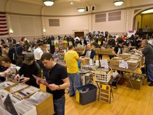 Vinyl Collectors Flock to CHIRP Record Fair