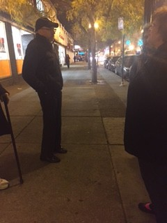 Uptown Residents Use Positive Loitering to Take Back Streets