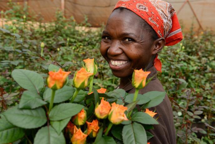 Flower trade