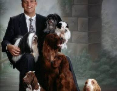 Juha ja koirat long time ago