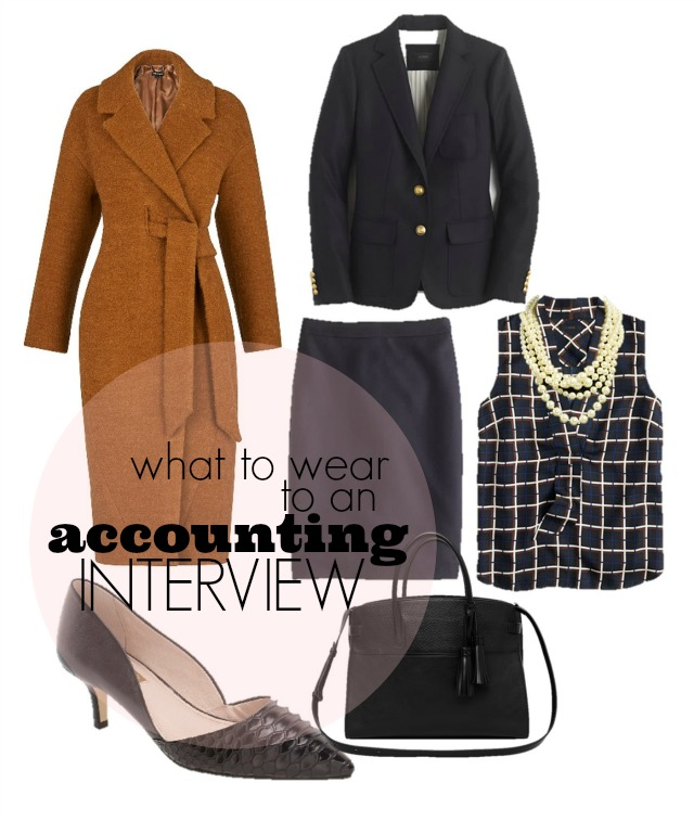 what to wear to an accounting interview