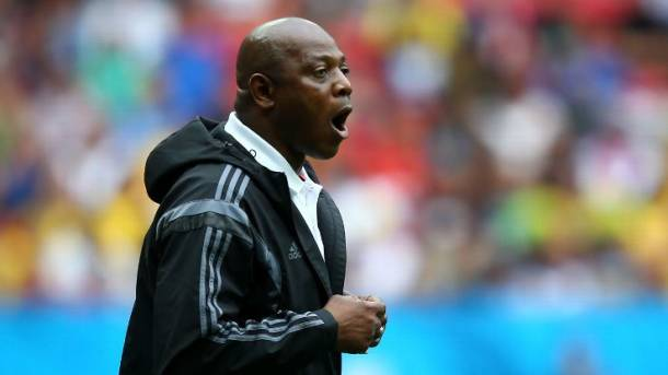 Stephen Keshi fired as Nigerian national team manager