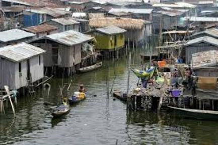 Image of Lagos slum