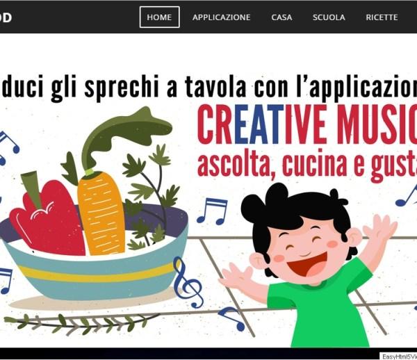 Creative Music Food