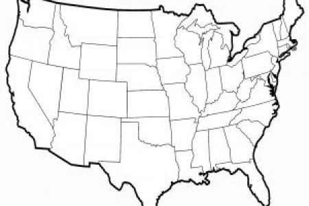 pics photos black and white map the united states with