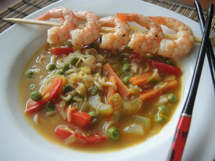 Mie-Nudel-Suppe (2)