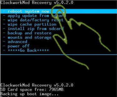 Installare la ClockWorkMod Recovery 5.0.2.6 su Galaxy Ace
