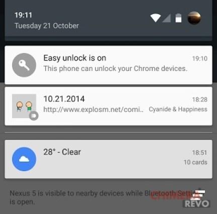 android lollipop easy unlock chrome os