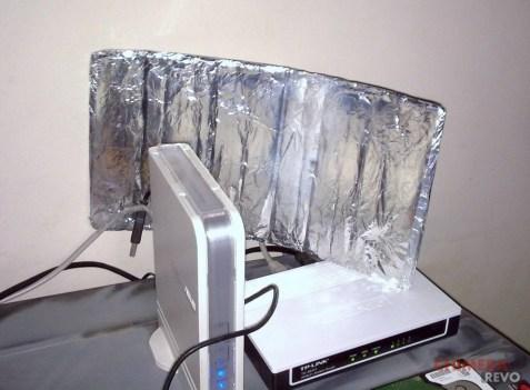 Router wifi alluminio