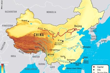 china waterway map 650 north american