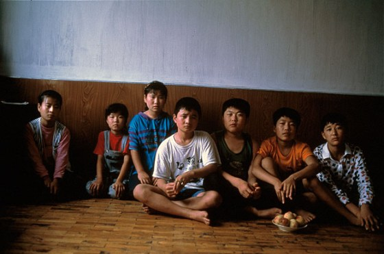 The children of North Korean wives and Chinese husbands in the Yanbian Korean Autonomous Prefecture of northern China.