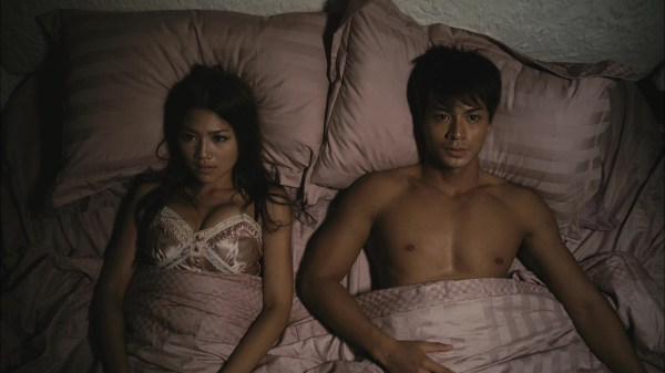 Scene from Hong Kong Movie 'Marriage with a Liar'.