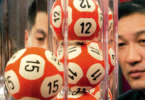 Lottery balls in China.