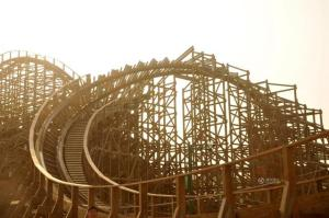 New Largest Wooden Roller-Coaster Uses American Materials