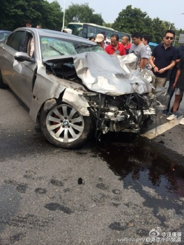 Police Release Data From Fatal Nanjing Accident 195 KPH
